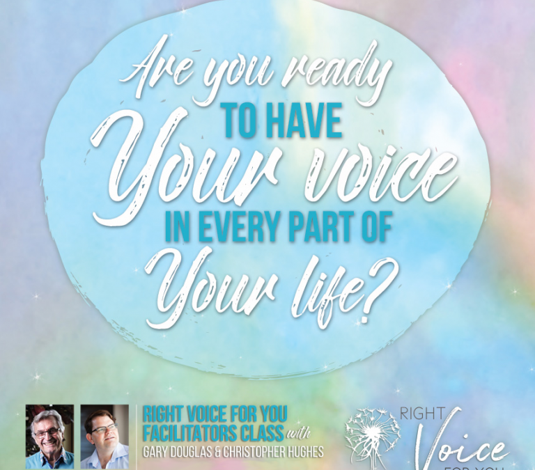 The Value Of Your Voice
