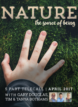 Nature – the Source of Being – 5-part Telecall Series