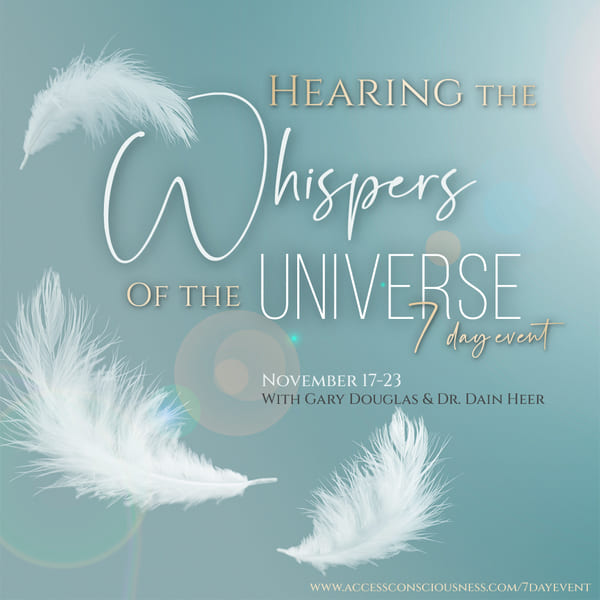 Whispers of the Universe